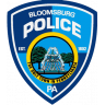 Bloomsburg Police Department Badge