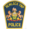 Hemlock Township Police Department Badge
