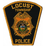 Locust Township Police Department Badge
