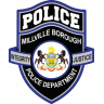 Millville Borough Police Department Badge