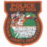 Benton Borough Police Department Badge