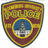 Bloomsburg University Police Department Badge