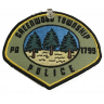 Greenwood Township Police Department Badge