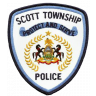 Scott Township Police Department Badge